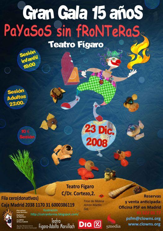 Payasos sin fronteras for Oficina recaudacion madrid